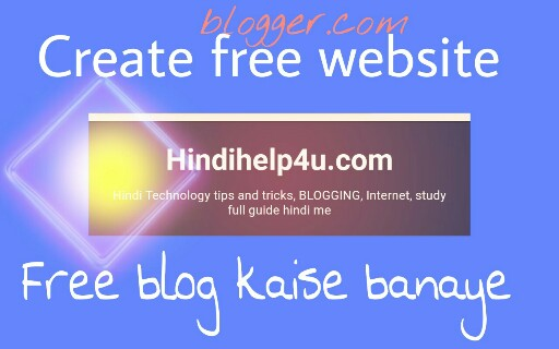How-to-create-a free website in-blogger.com