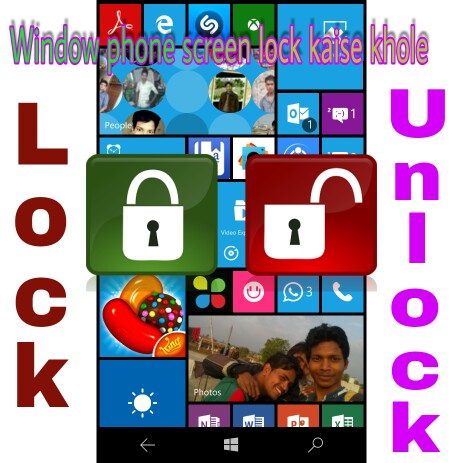 How to unlock my windows phone Forget Lock