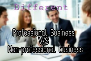 professional-business-and-non-professional-business