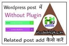 wordpress-post-me-related-post-add-kaise-kare