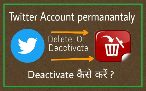 permanently twitter account delete