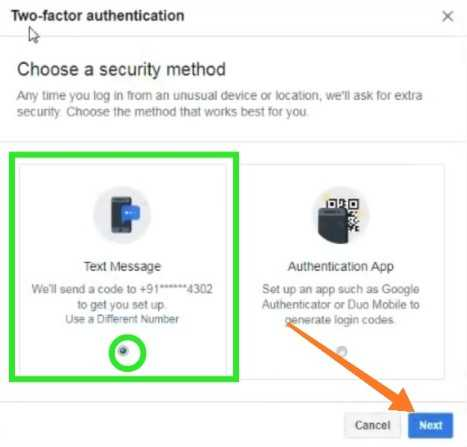 Facebook me Security enable kaise kare