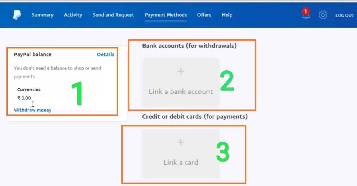 Paypal me bank add kaise kare