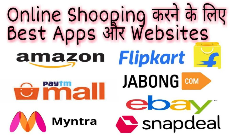 Online Shopping apps and website list