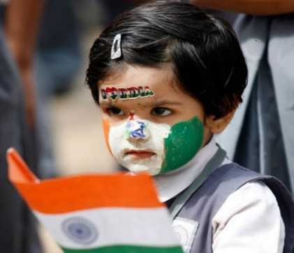 Cute Republic day Dp