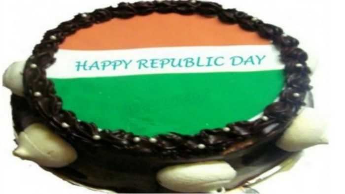 republic day cake wish