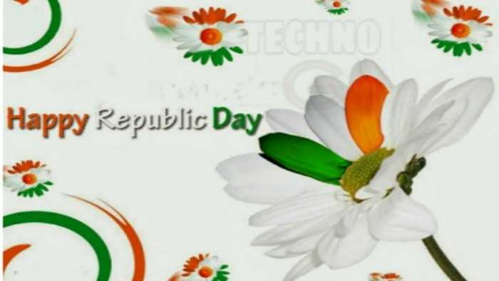 republic day flowers