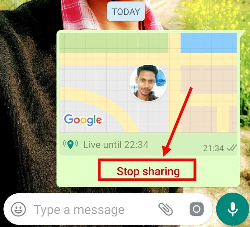Whatsaap-location-stop-kaise-kare