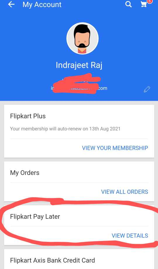 flipkart pay later option enable kaise karr